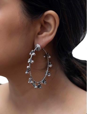 Sterling Silver Ghungaroo Earrings