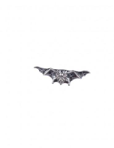 Sterling Silver Bat Brooch