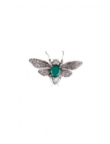 Sterling Silver Bee Brooch