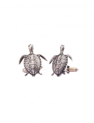 Sterling Silver Turtle Cufflinks