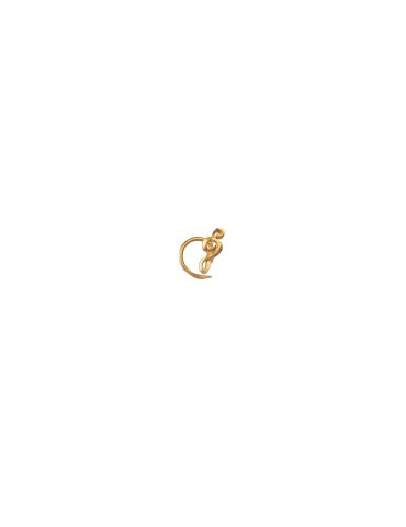 Sterling Silver Musical Nose Pin