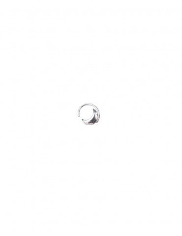 Sterling Silver Half Moon Nose Pin