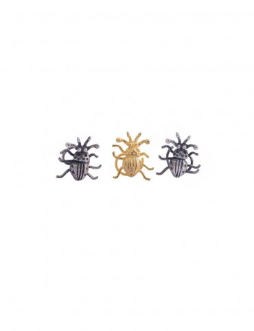 Sterling Silver Beetle Nose Pin