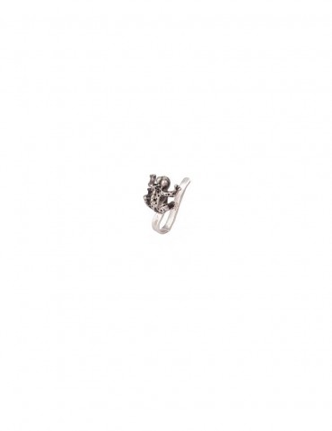 Sterling Silver Prince Charming Nose Pin