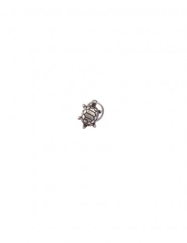 Sterling Silver Turtle Nose Pin