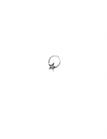 Sterling Silver Star Nose Pin