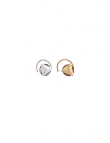 Sterling Silver Trikon Nose Pin