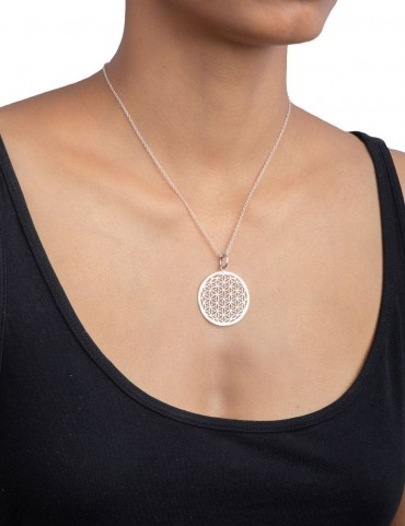 Sterling Silver 'Flower of Life' Pendant