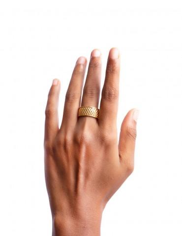 Sterling Silver Symmetric Ring