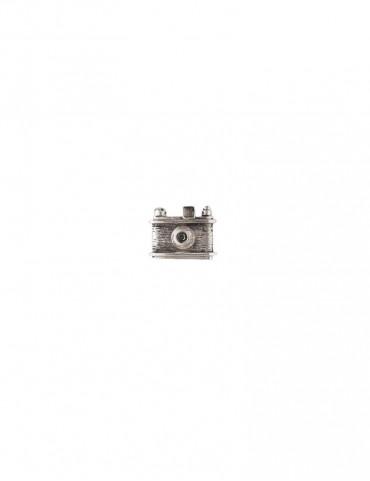 Sterling Silver Camera Brooch