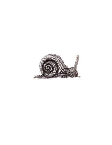 Sterling Silver Snail Small