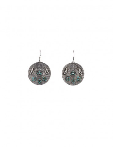 Sterling Silver Parrot Coil Earrings