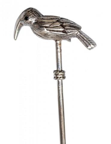 Sterling Silver Hoopoe Bird Stirrer