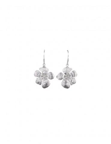 Sterling Silver Bohomein Floral Earrings