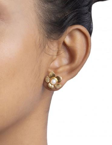 Sterling Silver Bohemian Earring Studs