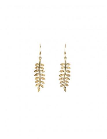 Sterling Silver Ferns Earrings