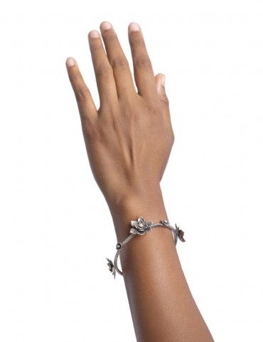 Sterling Silver Inate Bangle
