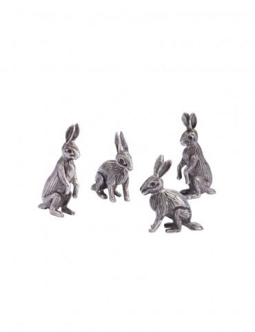 Sterling Silver Rabbit