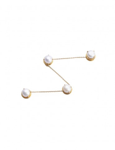 Sterling Silver Freshwater Pearl Kurta Buttons