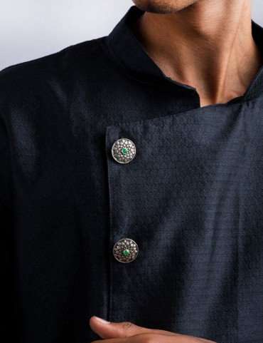 Sterling Silver Nawaab Sherwani Buttons